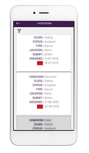 Ruler mobile access for students teachers and parents